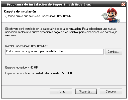 [Mi subida] Super Smash Bros Brawl [Convertido Para PC]