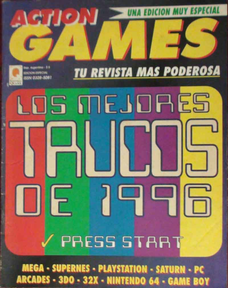 [Aporte]Tapas de revistas Action Games + 4 cds + yapa